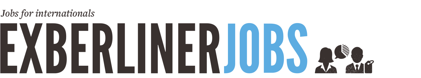 Exberliner Jobs – Berlin jobs for internationals logo